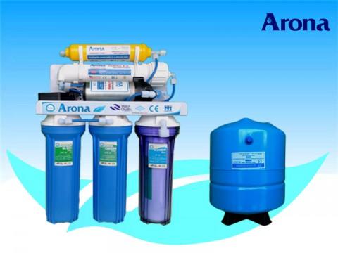 Máy lọc nước R.O Arona 5 cấp lọc không vỏ tủ