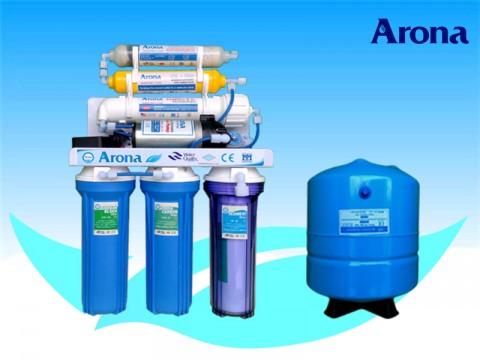 Máy lọc nước R.O Arona 6 cấp lọc không vỏ tủ