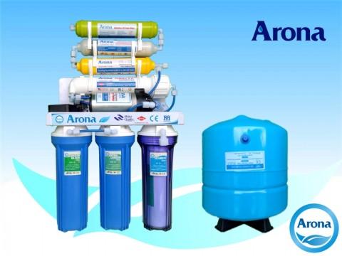Máy lọc nước R.O Arona 7 cấp lọc không vỏ tủ