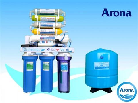 Máy lọc nước R.O Arona 8 cấp lọc không vỏ tủ