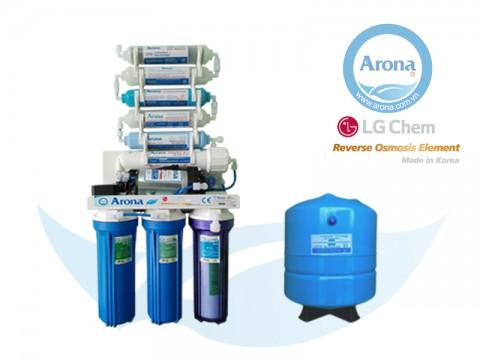 Máy lọc nước RO Arona 9 cấp lọc không vỏ tủ